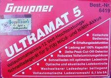 GRAUPNER 6419 ULTRAMAT 5 12V HOCHLEISTUNGS SCHNELLLADEGERÄT