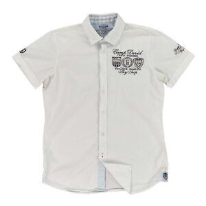 CAMP DAVID Herren Hemd S 48 Regular Fit SKY LOUNGE SARDINIA kurzarm Shirt TOP