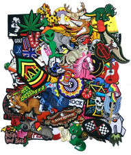 9pcs RANDOM DESIGN Embroidered Iron On Patches Applique Notion Free Tracking