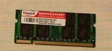 RAM SODIMM VData 1Gx16 DDR2 M2YVD2G3I4436I1B52 + RAM SODIMM DDR2 512MB PC2-4200S