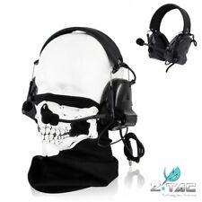 Z-TAC Tactical Peltor COMTAC II Type Headphone Noise Reduction Headset Z041-Bk