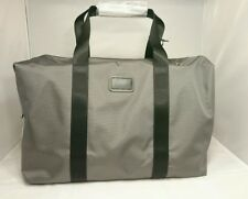 $345 NEW TUMI Alpha 2 Small Soft Nylon Travel Satchel Grey Duffle Bag 022149CG2E