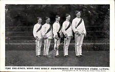 Luton. The Zig-Zags at Wardown Park by W.H. Cox, Luton. Entertainers.
