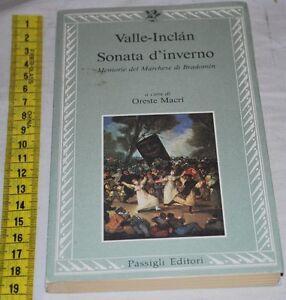 VALLE INCLAN - SONATA D'INVERNO - Passigli - libri usati