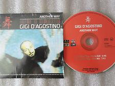CD-GIGI D'AGOSTINO-ANOTHER WAY-Gianfranco Bortolotti-ITALY(CD SINGLE)2000-2TRACK