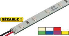 REGLETTE FLEXIBLE BARETTE LAMPE 30 LED BLANC CHAUD 50CM