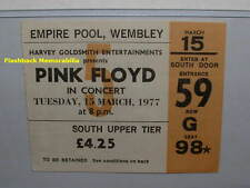 PINK FLOYD 1977 Concert Ticket Stub LONDON U.K. WEMBLEY Animals MEGA RARE
