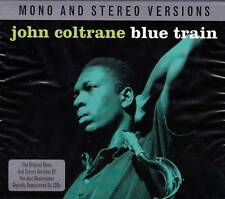 JOHN COLTRANE BLUE TRAIN - Mono & Stereo Versions (NEW SEALED 2CD)
