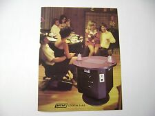 1975 PMC Electronic Princess Cocktail Arcade Game Original sales flyer brochure