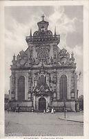 AK Bückeburg Lutherische Kirche gel. 1918 nach Bad Lauterberg/ Harz.