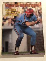 1979 Sports Illustrated PHILADELPHIA Phillies PETE ROSE No Label CINCINNATI REDS