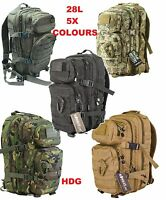 KOMBAT UK 28L ASSAULT PACK RUCKSACK TACTICAL COMBAT MOLLE BERGEN BACKPACK ARMY
