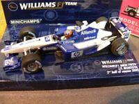 1/43 Minichamps Williams F1 BMW FW24 J.P. Montoya 2/2002 400020106