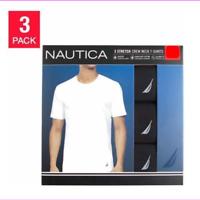 Nautica Men's 3-Pack Stretch Crew Neck T-Shirts