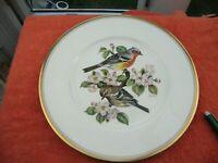 Boehm of Malvern England Ltd Collector Plate 'Chaffinch'