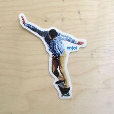 Enjoi skateboard vinyl sticker decal bumper boardslide Cario Foster SK8 Zack