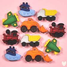 DRESS IT UP Buttons Things That Go Zoom 4243 - Embellishments Cars Trucks Train