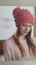 Slouchy Aran Beanie 401 Cleckheaton - Knitting Crochet Sewing Patterns