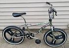 "Vintage 1993 ""GT Performer"" BMX Bike With ""GT"" Fan Mag Wheels"