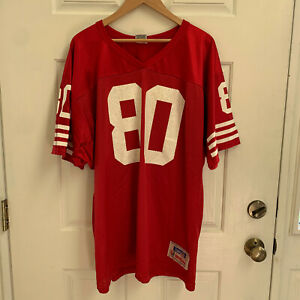 Vintage Jerry Rice San Francisco 49ers Wilson Jersey Mens XL Red