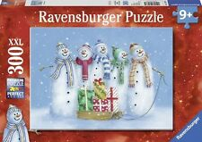 Ravensburger Christmas puzzle * navidad * 300 piezas * Muñeco de nieve familia * rareza