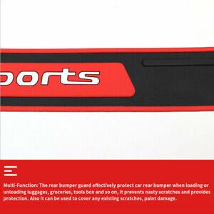 Car Accessories Cover Door Sill Guard Sticker 90*7.2CM Rear Bumper Protector