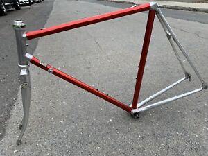 Vintage 80's VITUS 979 55cm Dural Aluminum Frame & Fork RED NICE!