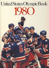 1980 US OLYMPIC GAMES BOOK Lake Placid ATHLETES Eric Heiden HOCKEY Pan Am Games