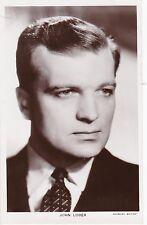 Picturegoer Series, JOHN LODER, Gaumont British Actor / Cinema Film Star RP