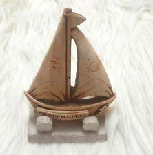 Resin Souvenir for Jordan , Old Traditional Ship Boat Aqaba Memorial Handmade