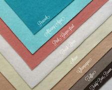 "Wow Coastal Felt Fabric Collection Merino Wool Blend Felt, Eight 9"" X 12"" Sheets"