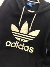 Adidas Originals Trefoil Hoodie Navy Blue, Size M Adult, Great Condition