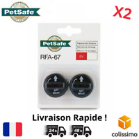 PetSafe Lot de 2 Piles RFA-67 6V Collier de Dressage Anti Aboiement Anti Fugue