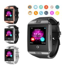 2020 Newest Smart Watch Smartwatch with Text Call Curved Touch Screen Mic Camera