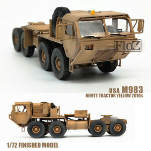 USA M983 HEMTT TRACTOR YELLOW 2010s 1/72 FINISHED model Truck MODEL COLLECT