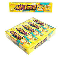 Korean CROWN Sweet and Sour Chewy Candy Snack Food Lemonade 29gX15Packs