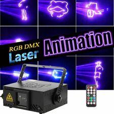 Laser RGB Animation DJ Disco Lasereffekt DMX Show Party Licht Bühnenbeleuchtung