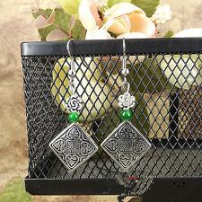 Type Ear Stud Earrings Gift E10 New Chic Fashion Women's Jewelry Silver beads