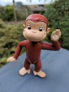 Curious George Toy Plastic Monkey Character Figure Unbranded cake topper