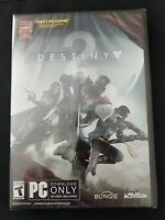 Destiny 2 PC Windows 2017 Factory Sealed Download FREE SHIPPING
