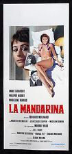 affiche du film pour le MANDARINA annie girardot,philippe noiret,m. renaud,