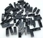 Lego 50 New Black Slope Curved 3 x 1 Sloped Pieces