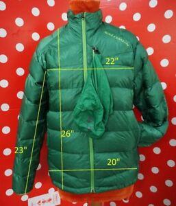 Salomon Pertex Quantum sz M puffer down jacket men lightweight quilted with bag