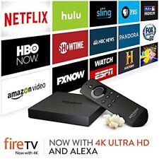 Amazon Fire TV (2nd Gen) Media Streamer 4K Ultra HD -Black ✔Ships Same Day ✔RARE