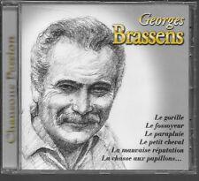 CD COMPIL 9 TITRES--CHANSONS PASSION / LE GORILLE-LE FOSSOYEUR--NEUF