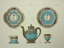 PSG 038 gravure Porcelaine Sèvres service Impératrice de Russie 1778