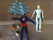 Captain Action 1960s sets: Dr.Evil Batman/Super Man Lot Junk Yard Lot