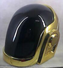 Daft Punk Guy Manuel Gold Chrome Helmet
