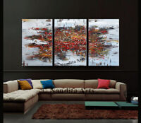 Gold Brown Contemporary Wall Art Abstract Painting on Canvas Original by Nandita