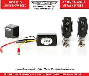 Aston Martin Rapide and  Rapide S  S6 Exhaust Bypass Remote Control Switch